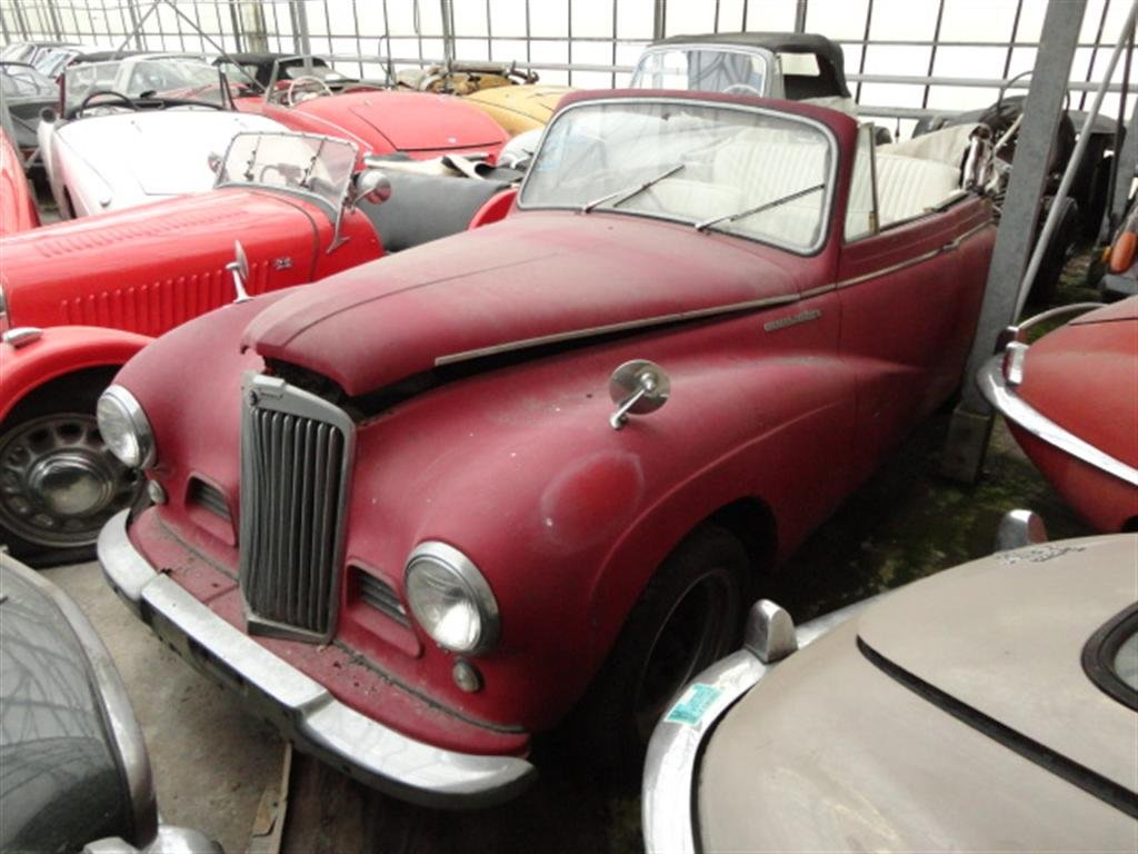 1952 Sunbeam Talbot DHC Right Hand Drive RHD for sale For Sale (picture 6 of 6)