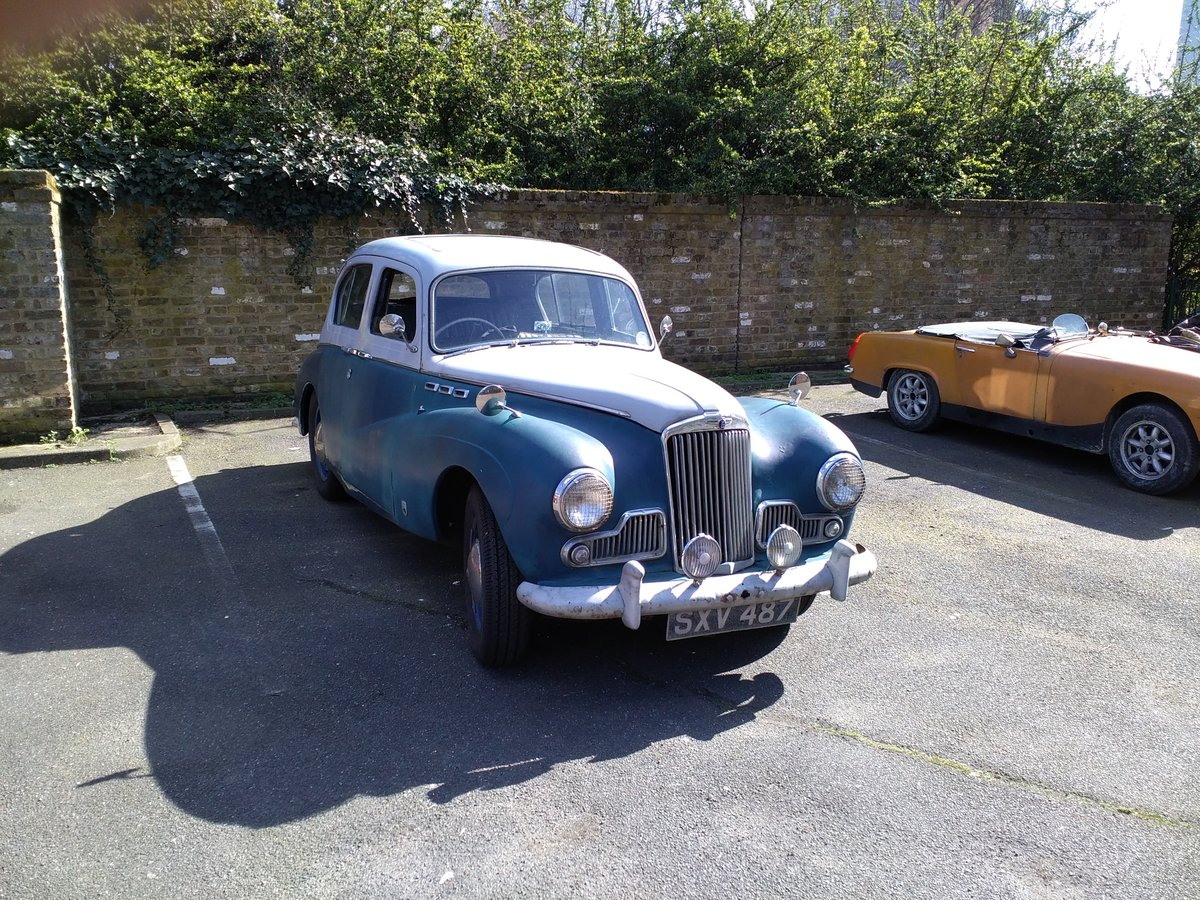1956 Sunbeam 90 Mk111 For Sale (picture 1 of 6)