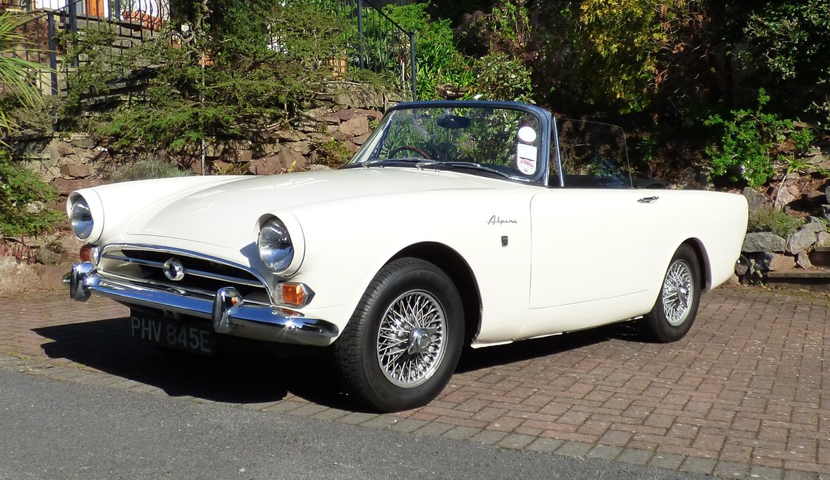 Sunbeam Alpine MkV 1967 For Sale (picture 1 of 4)