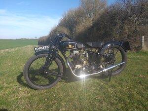 Sunbeam Model 8 350cc 1929 Vintage Motorcycle