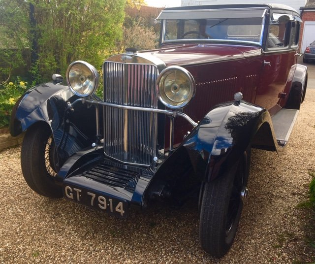 1931 Sunbeam 23.8 hp Weymann Bodied Sports Saloon For Sale (picture 1 of 4)