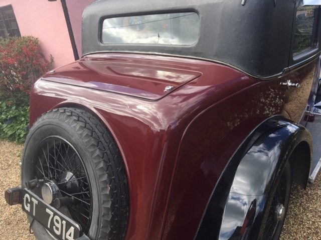 1931 Sunbeam 23.8 hp Weymann Bodied Sports Saloon For Sale (picture 4 of 4)