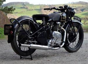 1939 SUNBEAM B25 500cc HIGH CAM EXTREMELY RARE SOLD