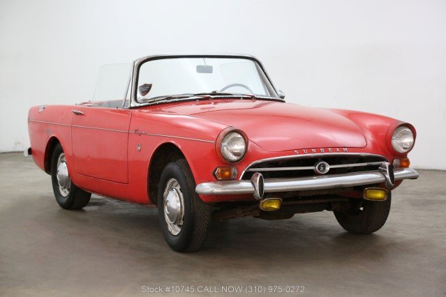 1966 Sunbeam Tiger For Sale (picture 1 of 6)