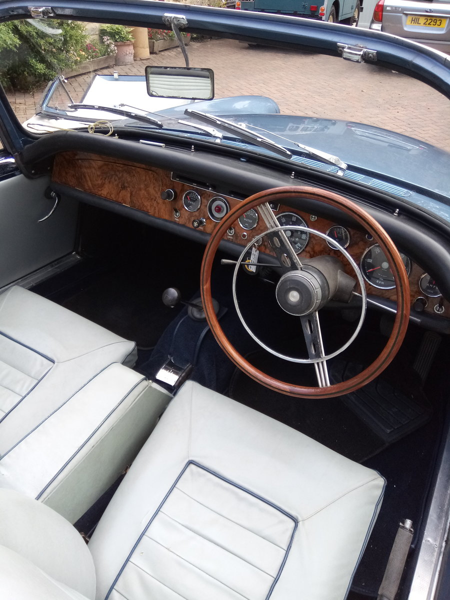 Sunbeam Alpine Series 3 GT 1963.  Fully restored For Sale (picture 3 of 6)