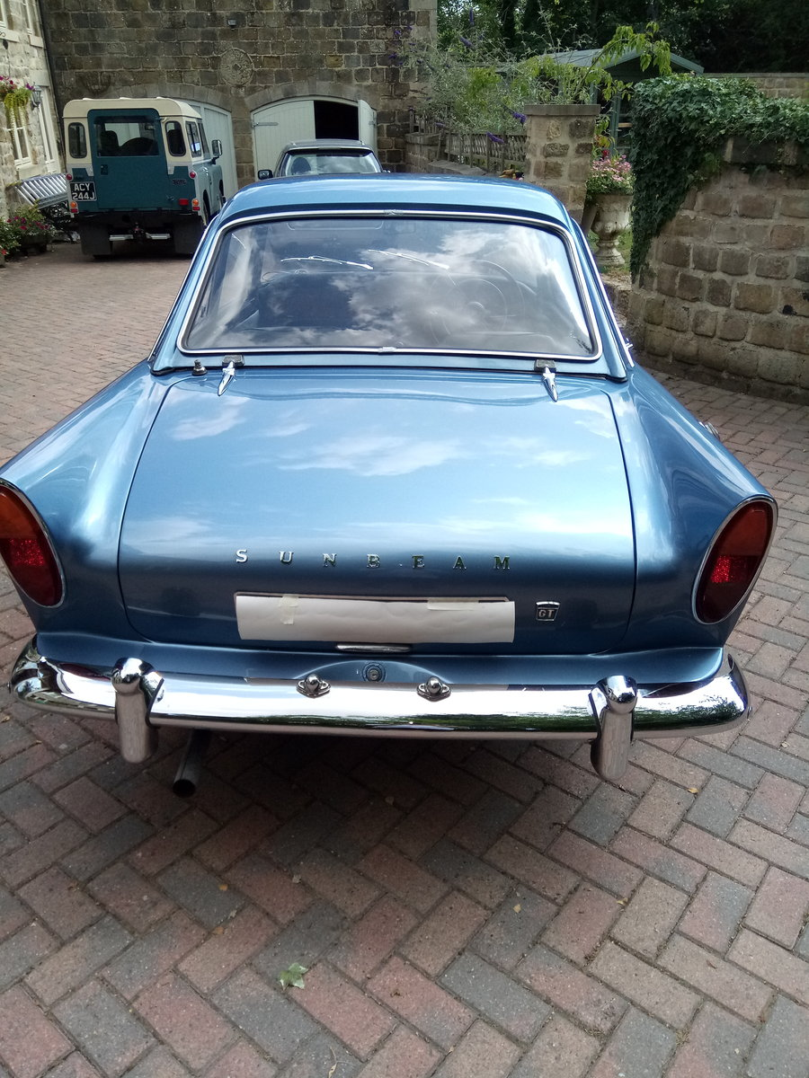Sunbeam Alpine Series 3 GT 1963.  Fully restored For Sale (picture 4 of 6)