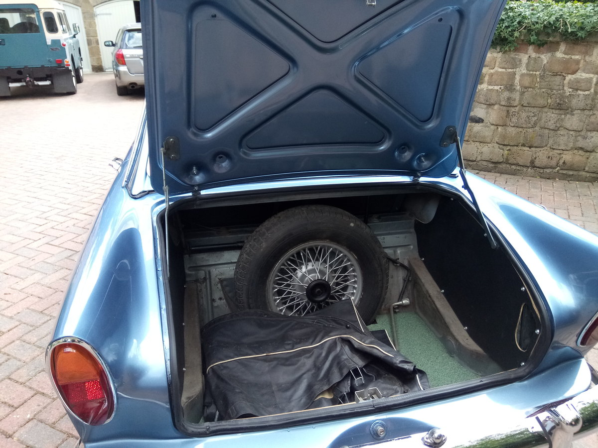 Sunbeam Alpine Series 3 GT 1963.  Fully restored For Sale (picture 5 of 6)