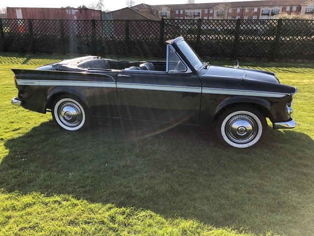 1961 Sunbeam Rapier Convertible Series IIIA 1500 c For Sale (picture 2 of 6)