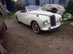 1954 Sunbeam Alpine damaged repairable For Sale
