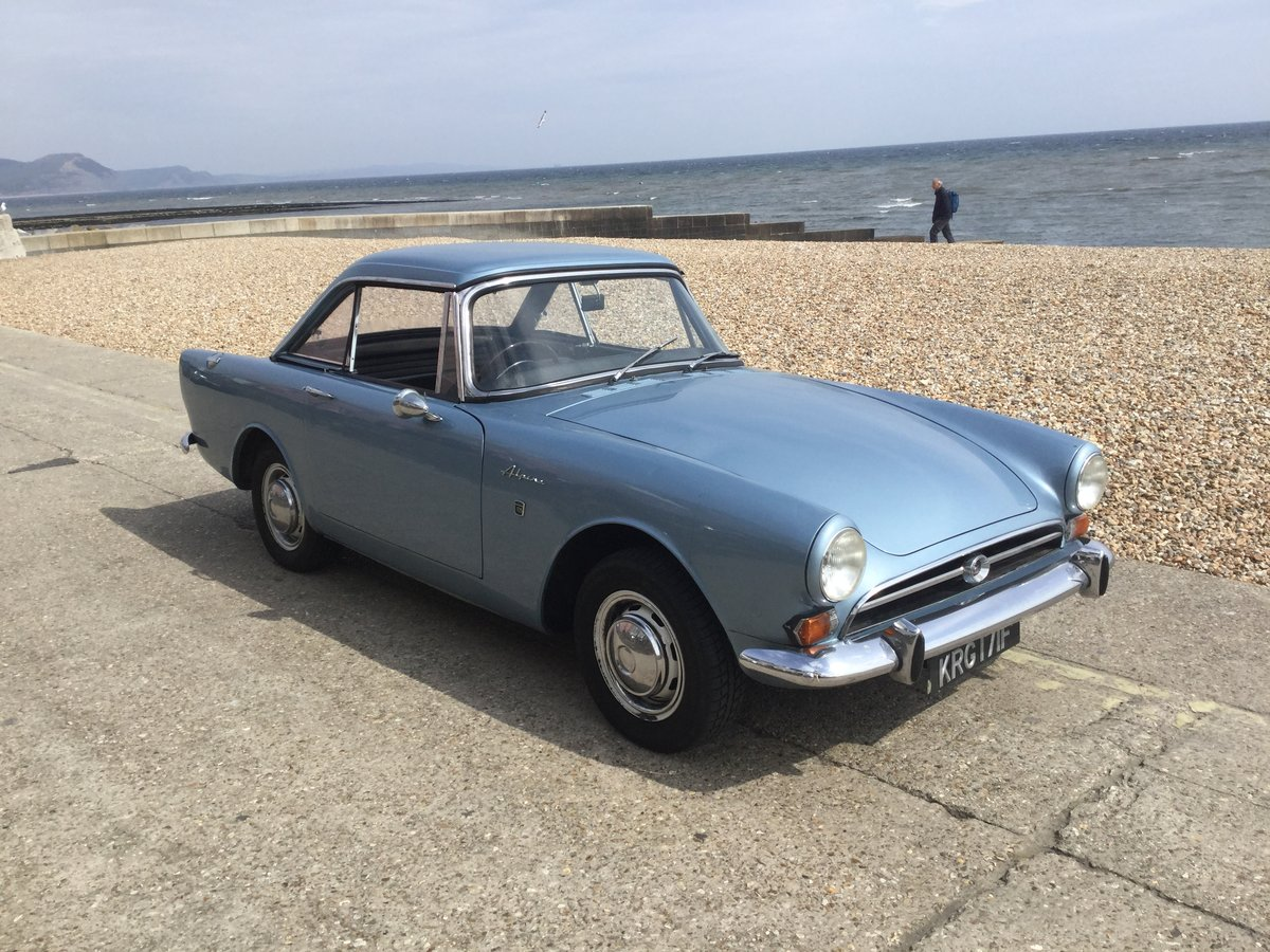 1968 Late Series V Sunbeam Alpine GT with overdrive SOLD (picture 1 of 6)