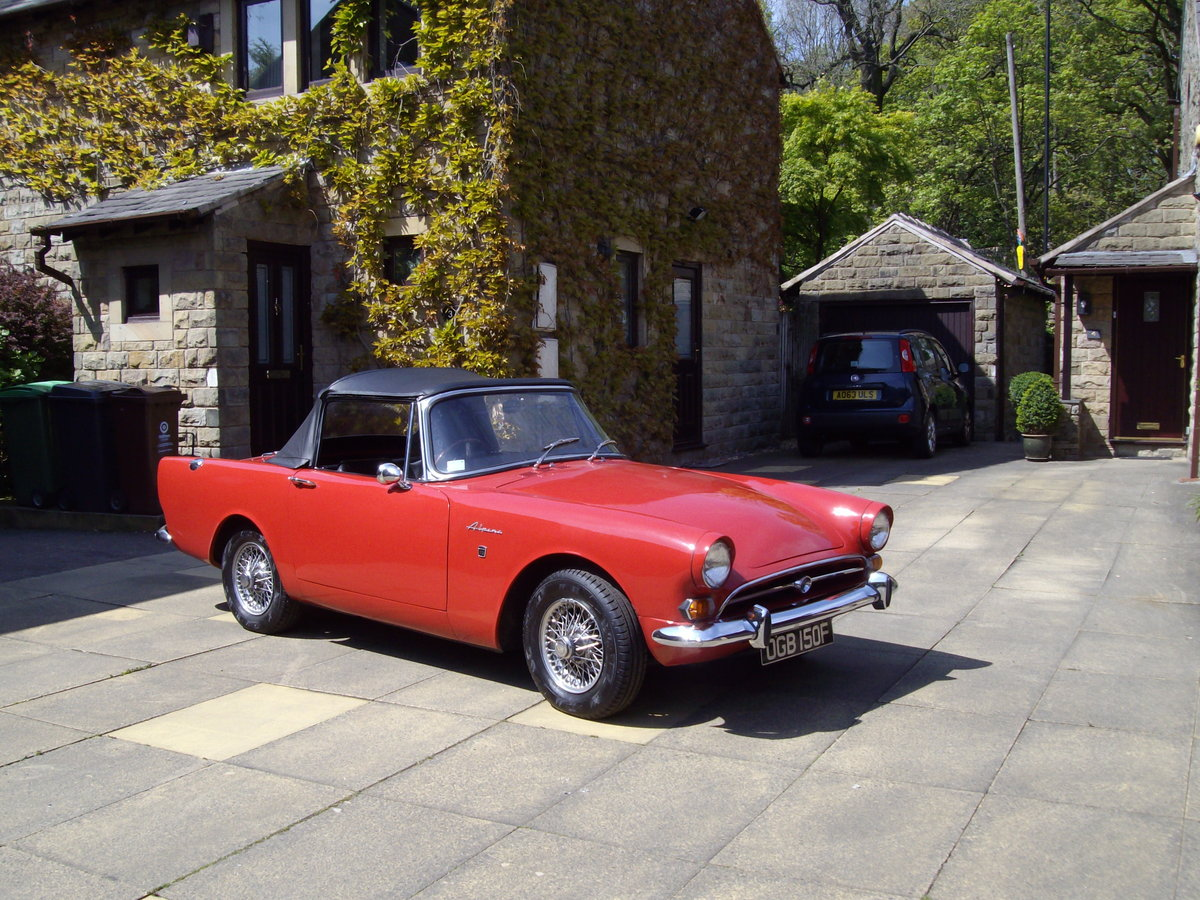 1968 sunbeam alpine series v For Sale (picture 1 of 6)