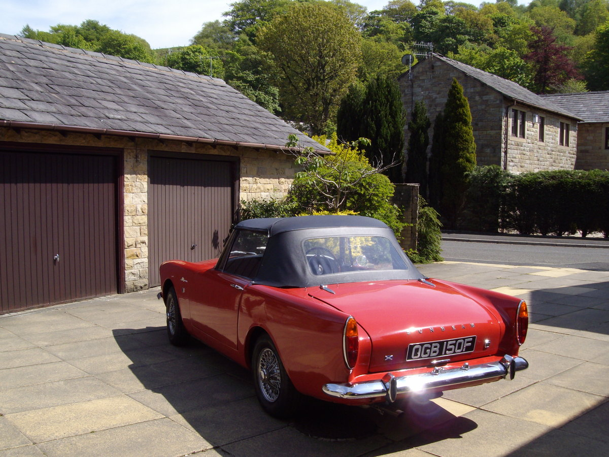 1968 sunbeam alpine series v For Sale (picture 2 of 6)
