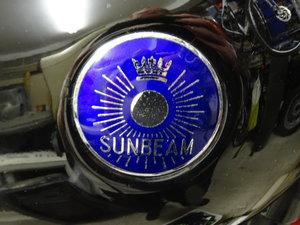 Sunbeam S8 Black, 1950 Blue badge, Matching number For Sale