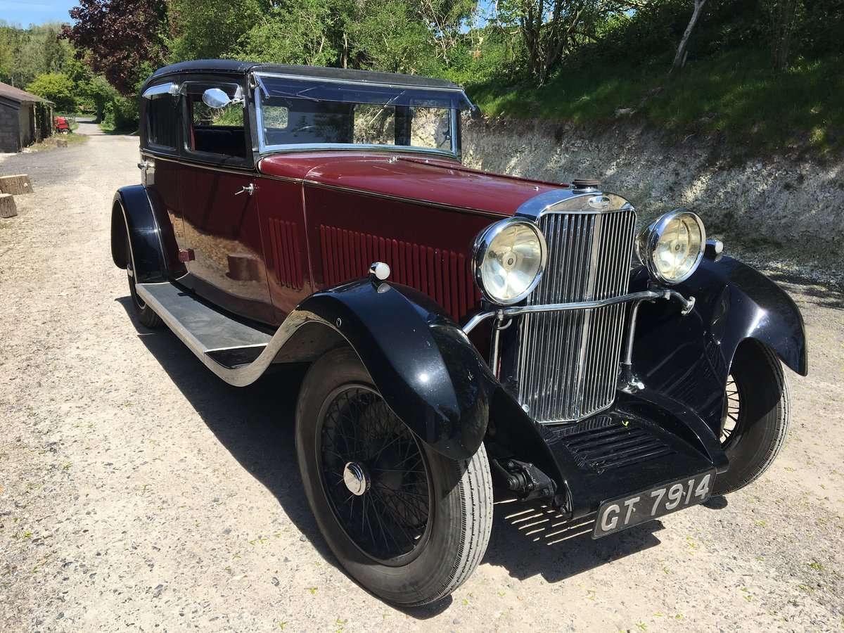 1931 Sunbeam 23.8 hp Weymann Sports Saloon For Sale (picture 1 of 6)