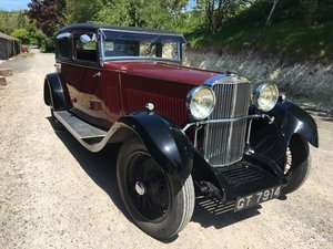 1931 Sunbeam 23.8 hp Weymann Sports Saloon Reserved SOLD
