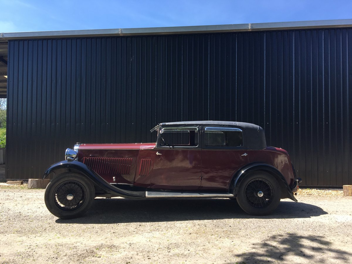 1931 Sunbeam 23.8 hp Weymann Sports Saloon For Sale (picture 2 of 6)