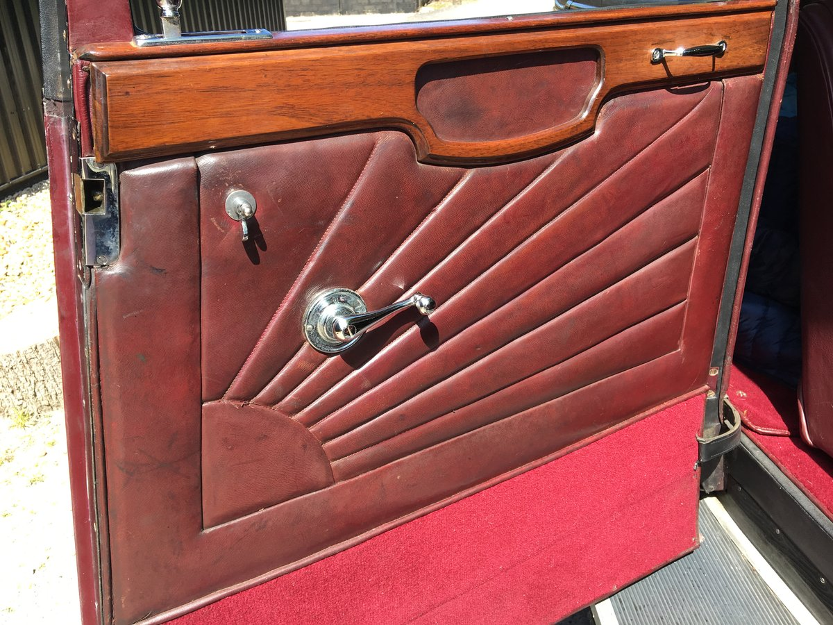 1931 Sunbeam 23.8 hp Weymann Sports Saloon For Sale (picture 4 of 6)
