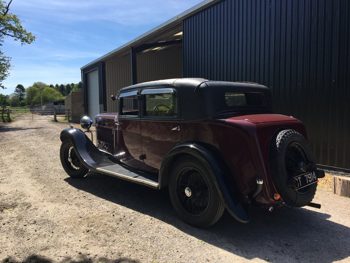 1931 Sunbeam 23.8 hp Weymann Sports Saloon For Sale (picture 5 of 6)