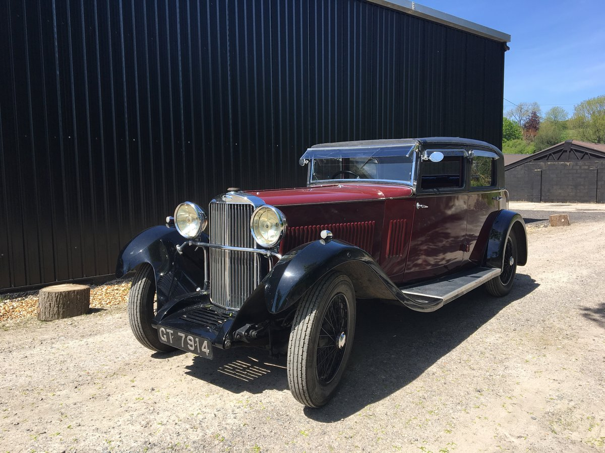 1931 Sunbeam 23.8 hp Weymann Sports Saloon For Sale (picture 6 of 6)
