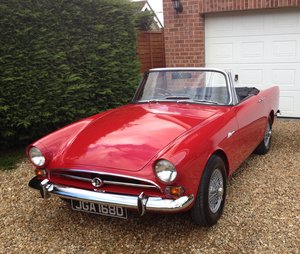1966 Sunbeam Alpine Series V 1725cc For Sale