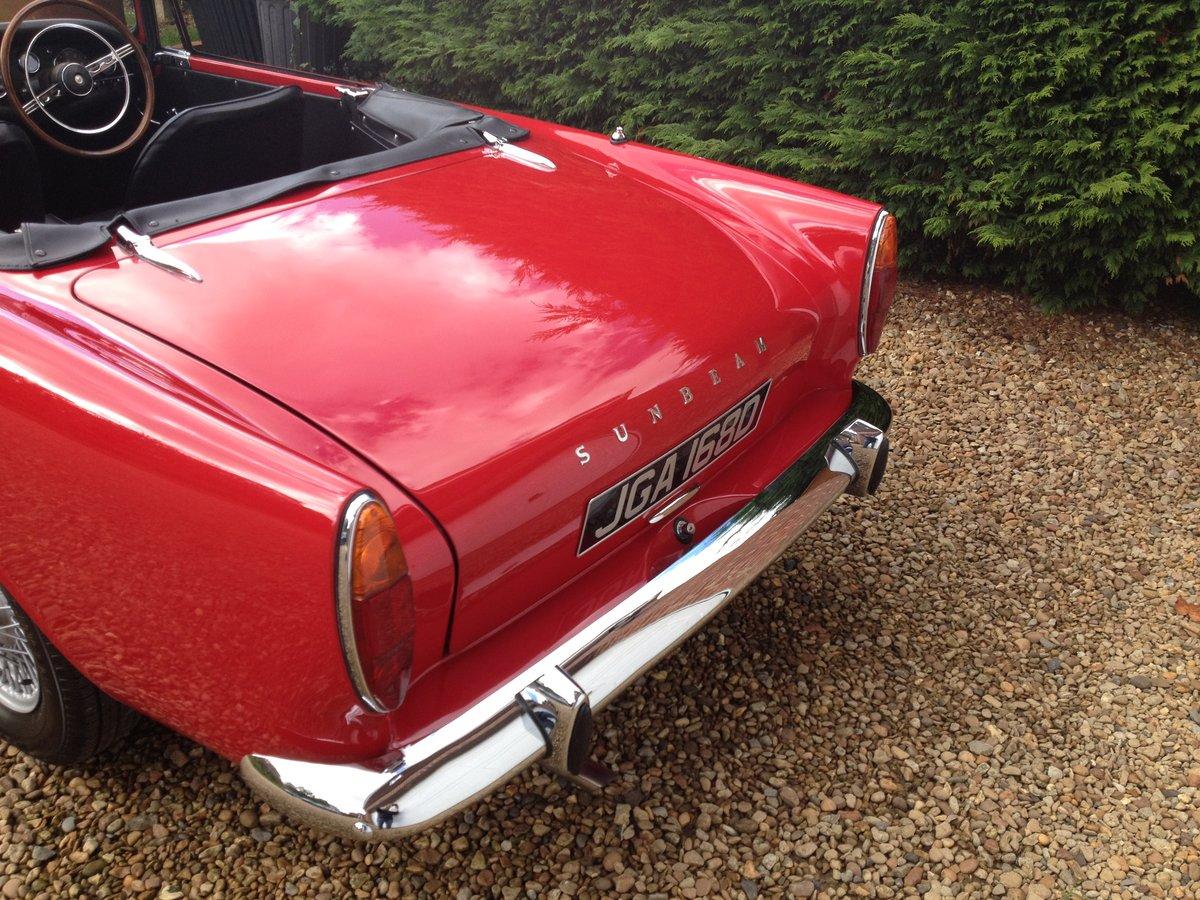 1966 Sunbeam Alpine Series V 1725cc SOLD (picture 5 of 6)
