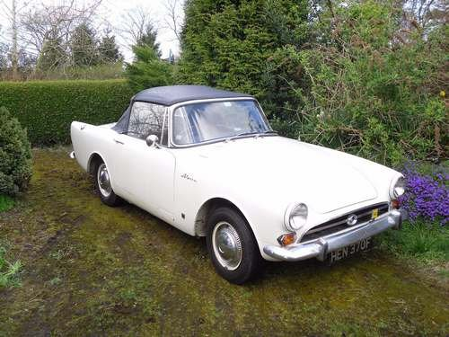 1967 Sunbeam Alpine at Morris Leslie Auction 25th May SOLD by Auction (picture 1 of 1)