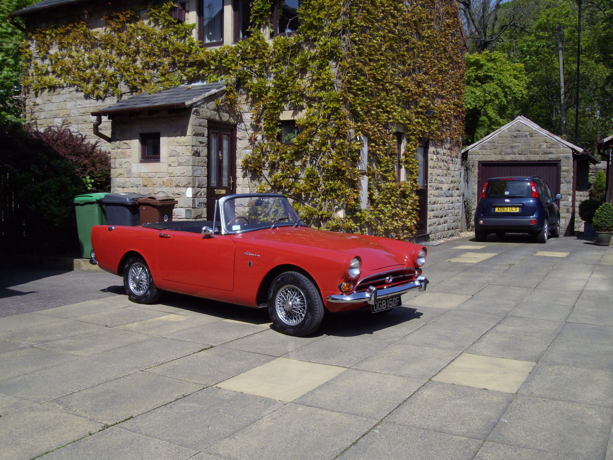 1968 sunbeam alpine series v For Sale (picture 6 of 6)
