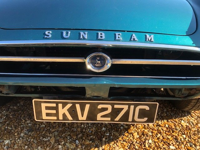 1965 Sunbeam Tiger time warp owned 29 years For Sale (picture 1 of 6)
