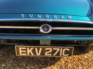 1965 Sunbeam Tiger time warp owned 29 years For Sale