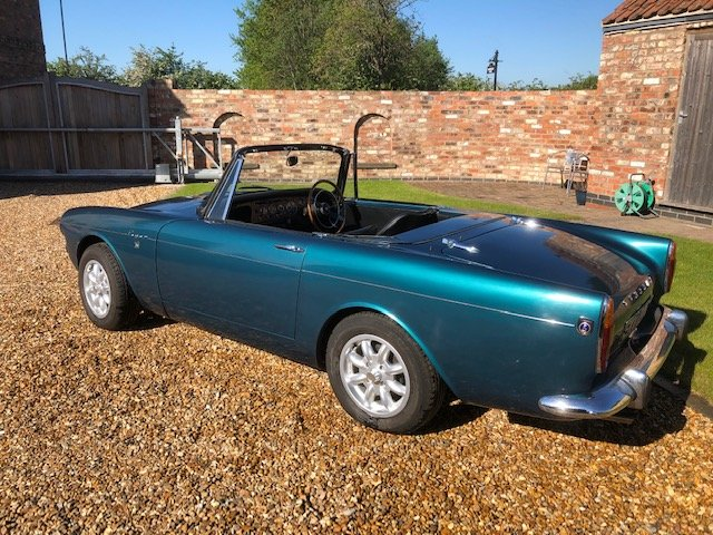 1965 Sunbeam Tiger time warp owned 29 years For Sale (picture 3 of 6)