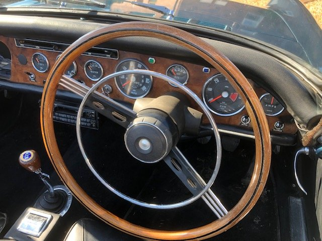 1965 Sunbeam Tiger time warp owned 29 years For Sale (picture 4 of 6)