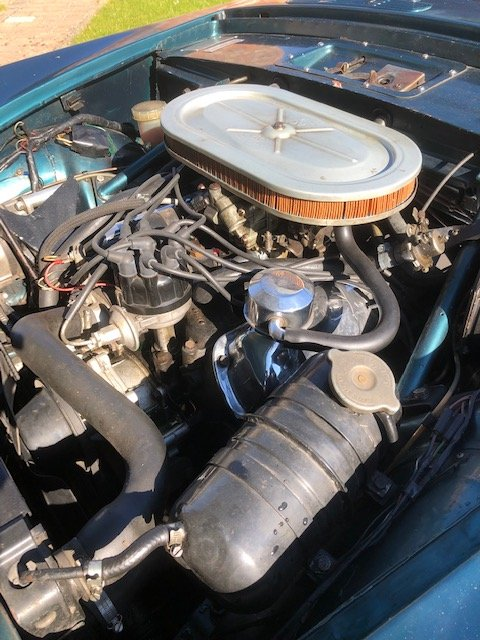 1965 Sunbeam Tiger time warp owned 29 years For Sale (picture 5 of 6)