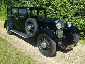 1932 Sunbeam 18.2 Saloon at ACA 15th June  For Sale