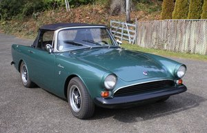 Lot 115- 1967 Sunbeam Alpine For Sale by Auction