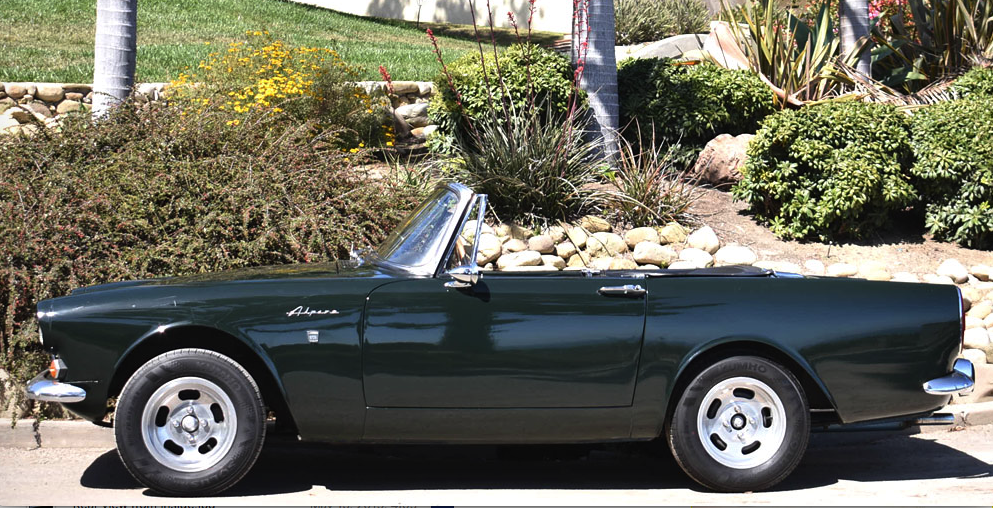 1967 Sunbeam Alpine Convertible For Sale (picture 1 of 6)