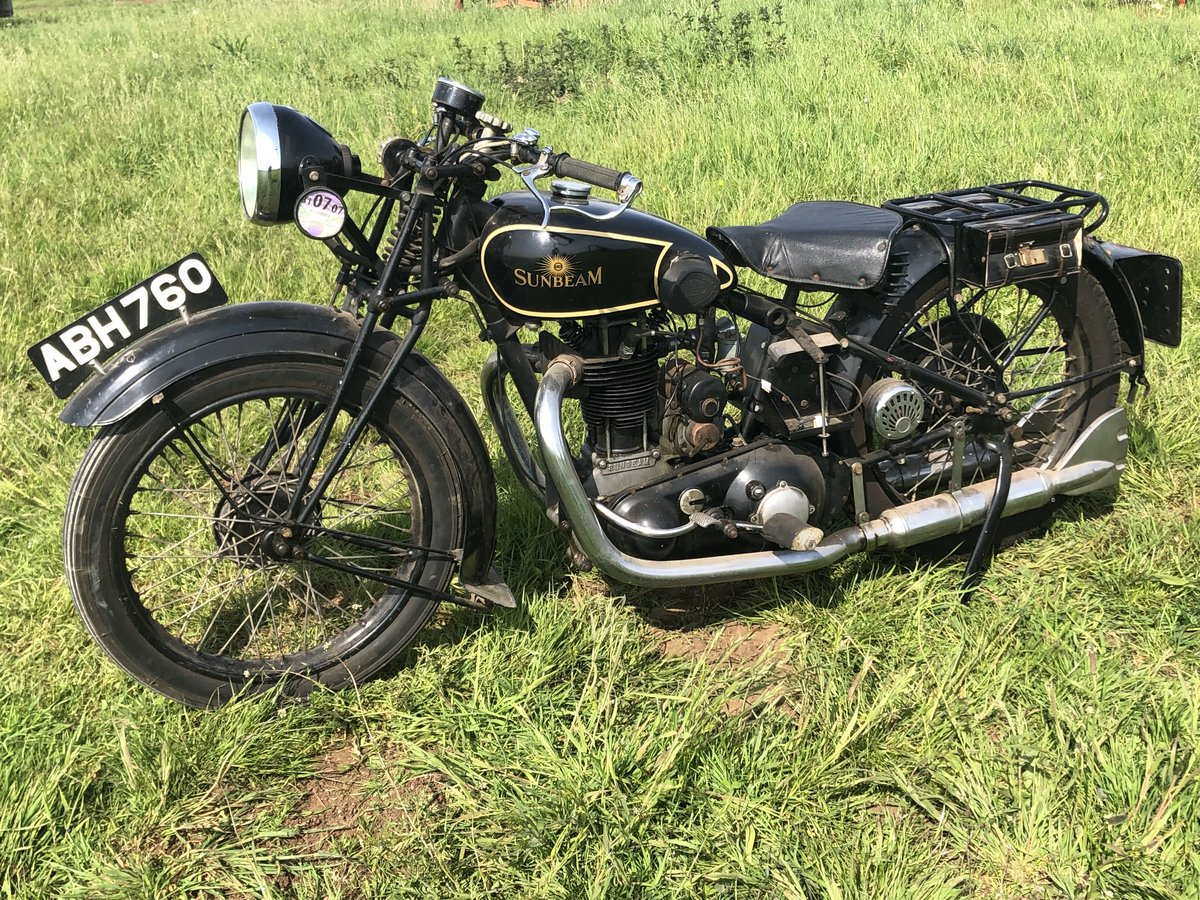 1933 Sunbeam Model 8 350cc for sale by auction on June 15th SOLD by Auction (picture 1 of 2)