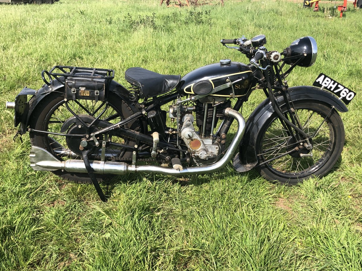 1933 Sunbeam Model 8 350cc for sale by auction on June 15th SOLD by Auction (picture 2 of 2)