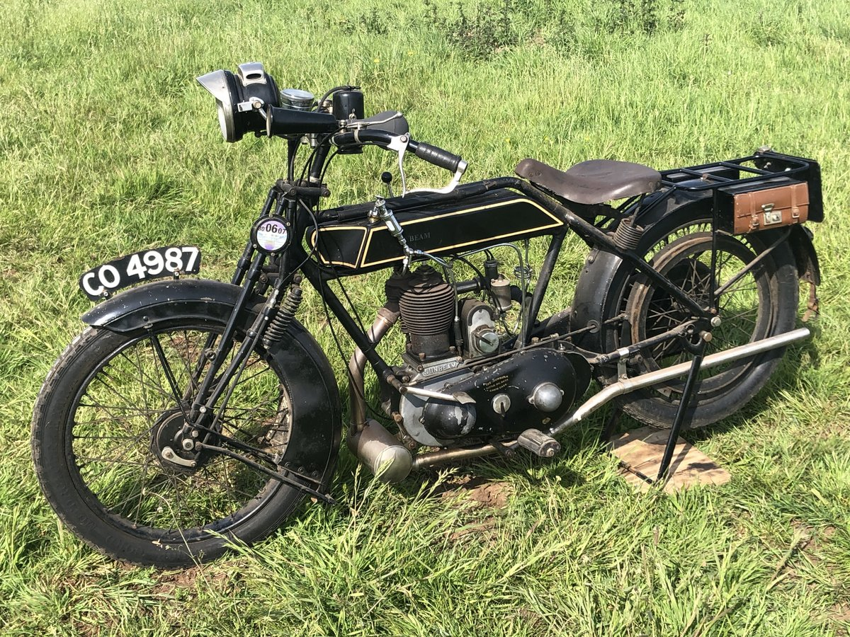 1922 Sunbeam 499cc for sale by auction on June 15th SOLD by Auction (picture 1 of 4)