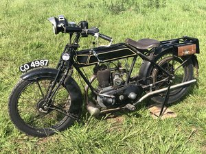 1922 Sunbeam 499cc for sale by auction on June 15th SOLD by Auction