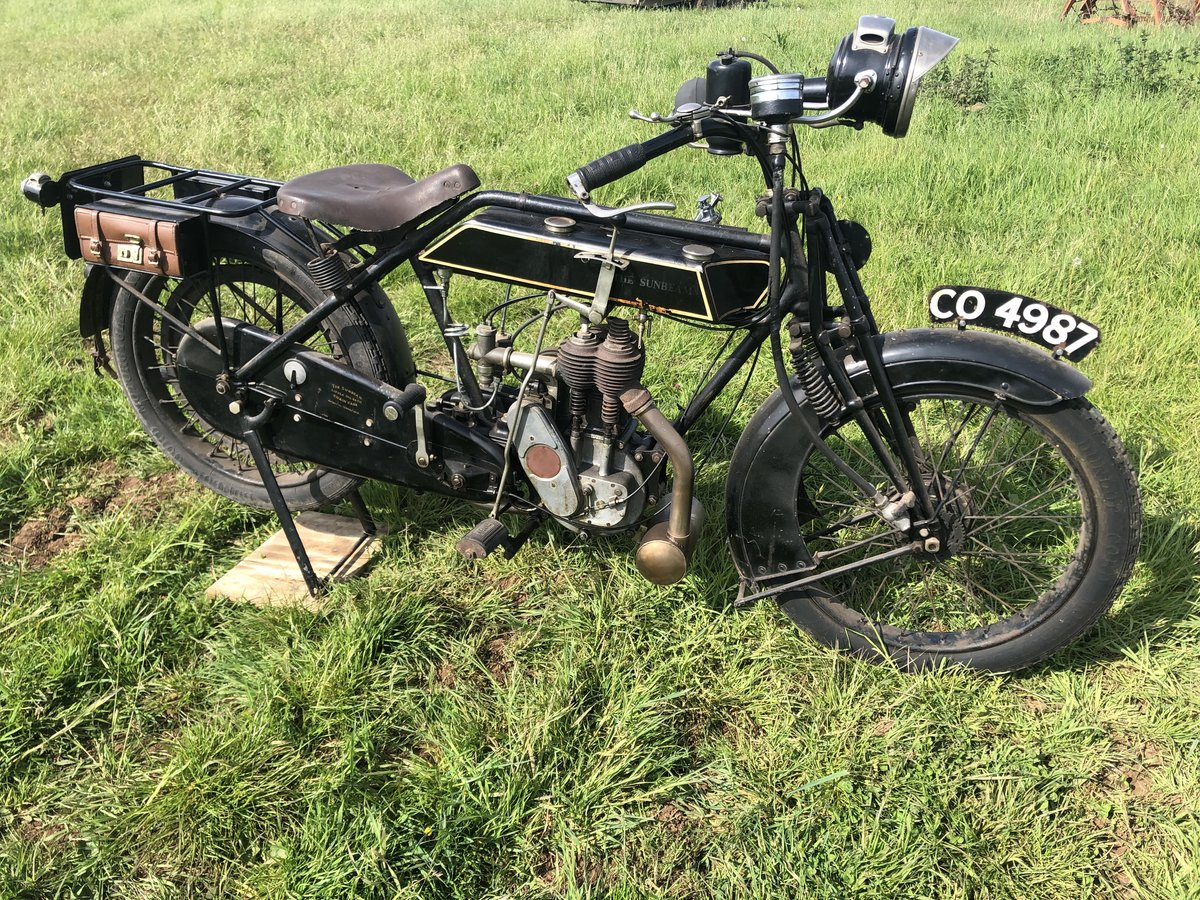 1922 Sunbeam 499cc for sale by auction on June 15th SOLD by Auction (picture 2 of 4)