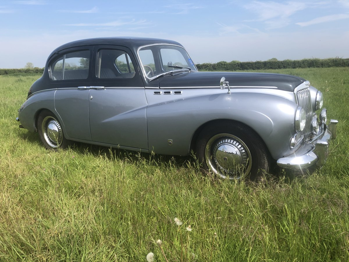 1957 Sunbeam Talbot 90 for sale by auction June 15th SOLD by Auction (picture 1 of 4)