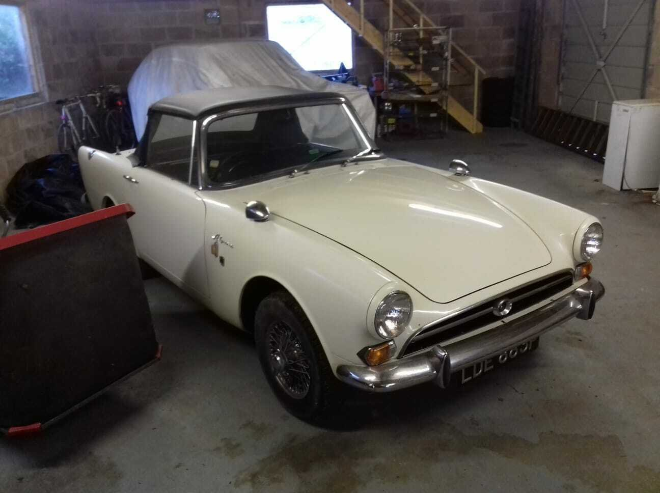 1968  SUNBEAM ALPINE SPORTS SERIES V UNBELIEVABLE   SOLD (picture 1 of 6)