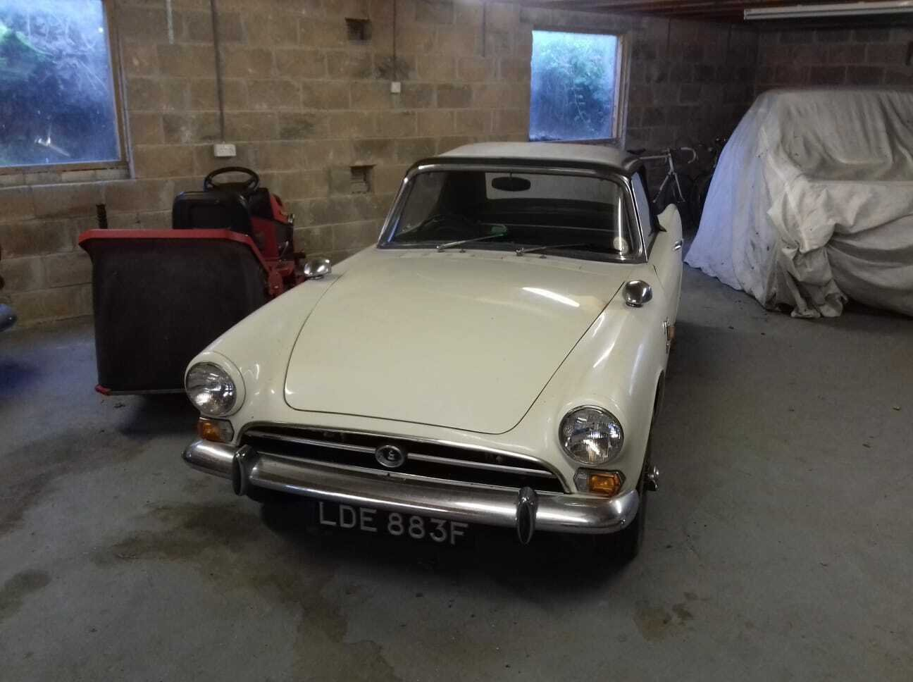 1968  SUNBEAM ALPINE SPORTS SERIES V UNBELIEVABLE   SOLD (picture 2 of 6)