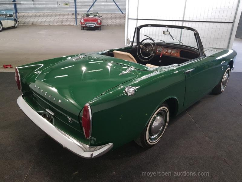 Sunbeam Alpine 1964  For Sale by Auction (picture 5 of 6)
