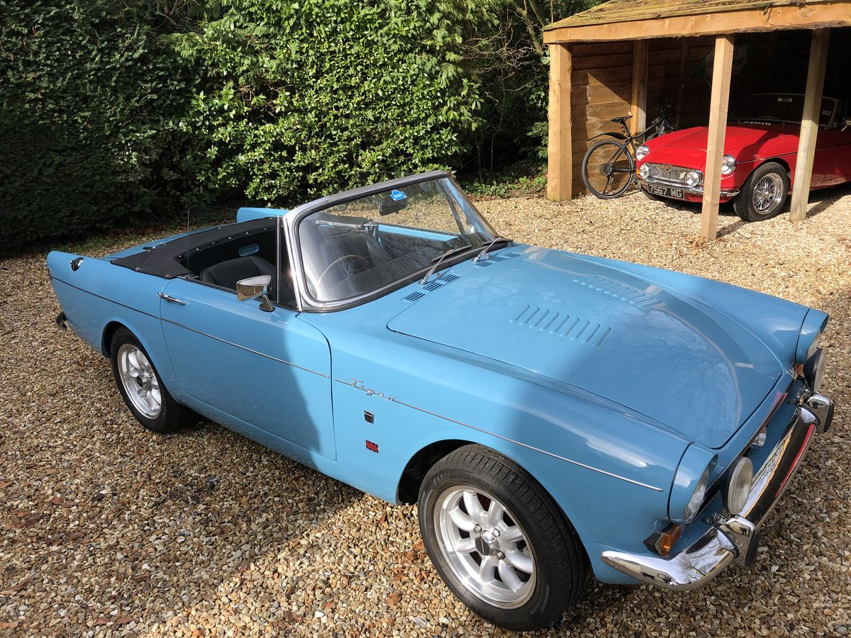 Sunbeam Tiger Series 1 1965 For Sale (picture 1 of 6)