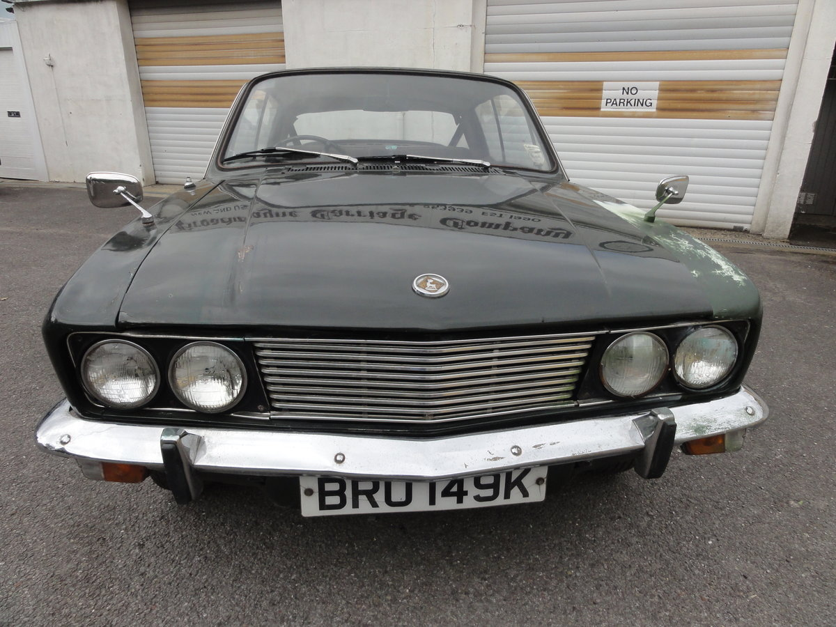 1972 Sunbeam Rapier Fastback For Sale by Auction (picture 2 of 6)