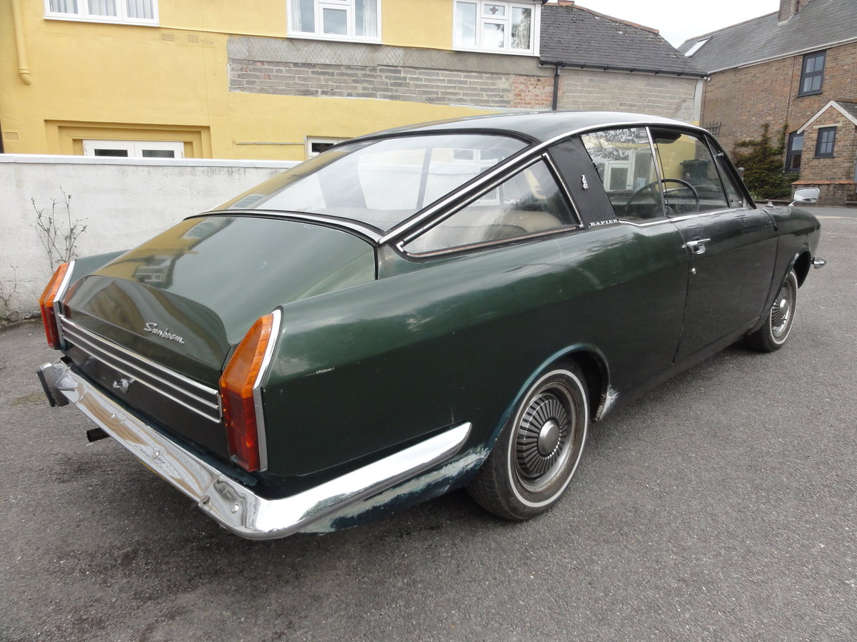1972 Sunbeam Rapier Fastback For Sale by Auction (picture 3 of 6)