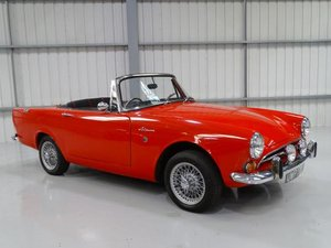 1968 Sunbeam Alpine Series V GT For Sale by Auction