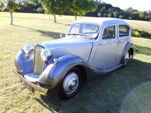1939 Sunbeam Talbot 10 Saloon For Sale