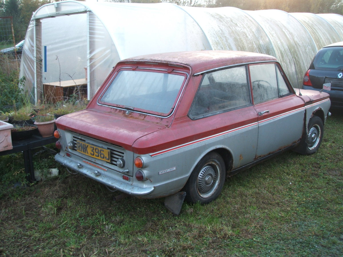 1970 Sunbeam Imp Rescued from garage For Sale (picture 1 of 6)